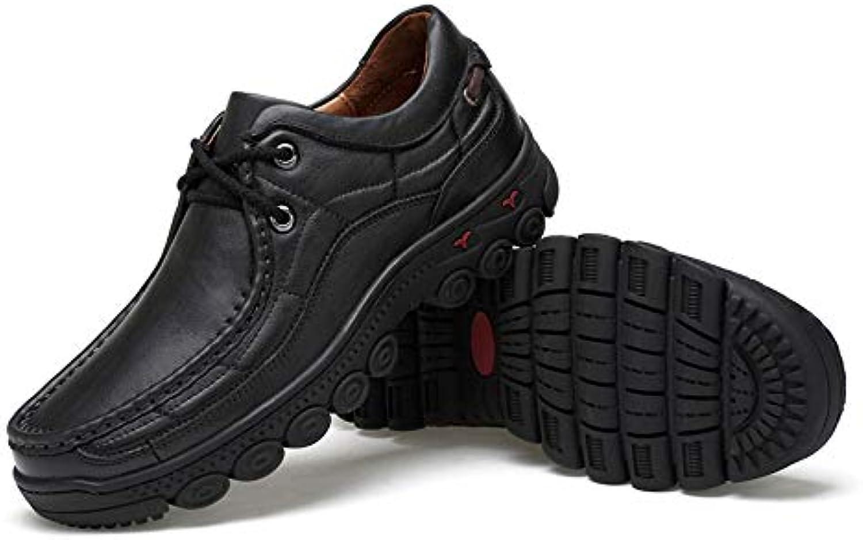 LUCKYEUD Scarpe da Uomo in Pelle con con con Decoro Derby Oxford Business scarpe Suola in Gomma per Il Tempo Libero da... | Un'apparenza Elegante  | Maschio/Ragazze Scarpa  2d9961