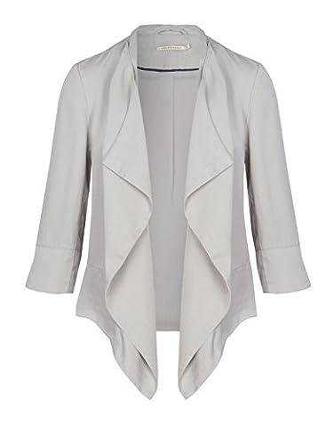 ARMEDANGELS Damen offener Tencel® Blazer - Dakota - L light grey