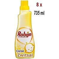 '8X robijn de lessive liquide Color zwitsal–21Lavages–735ml