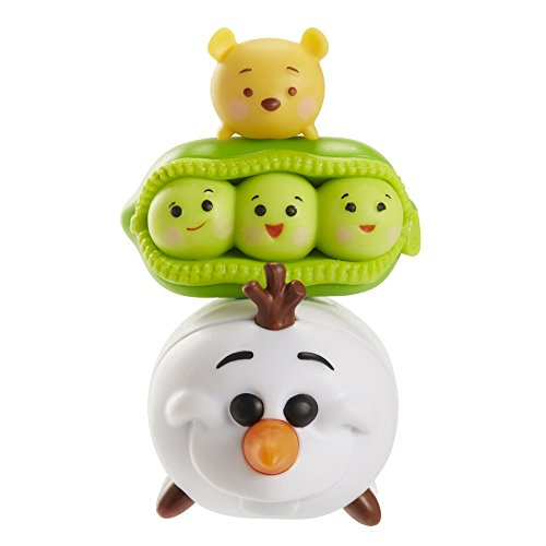 Tsum Tsum Series 2 Winnie the Pooh, Peas-in-a-Pod, Olaf 3-Pack Figurs - Pod Pacific