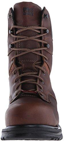 "Timberland Pro Rigmaster 8"" Femmes Cuir Chaussures de Travail Brn-Brn"