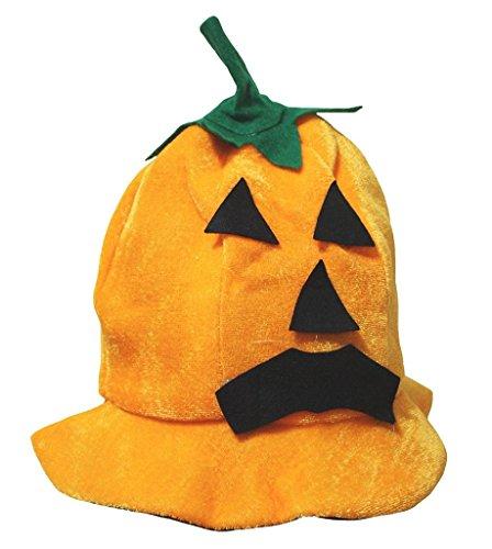 Petitebelle Halloween-Kostüm Tiere Hut Unisex-Kleidung Freie Größe Einheitsgröße Kürbis-Gesicht