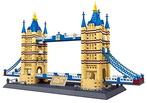 Tower Bridge von London. Architektur Modell zum Bauen. (Bridge-modell London)