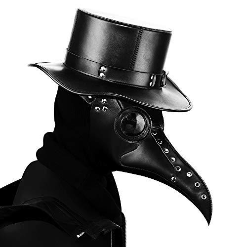 Steampunk Pest Dr. Bird Maske Lange Nase Cosplay Punk Halloween Kostüm-Requisiten