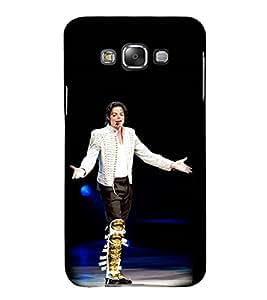 Vizagbeats Michale Jackson Back Case Cover for Samsung Galaxy E7 E700F