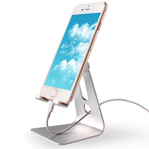 Tablet Ständer Universal Multi Winkel drehbar Aluminium Handy Tablet Desktop Cradle Halter Dock für iPhone 766S Plus 55S 5C iPad Pro Air 2Samsung Galaxy S7S6Edge Plus S5S4S3 (Ipad 2 16 Gb Wifi Verwendet)