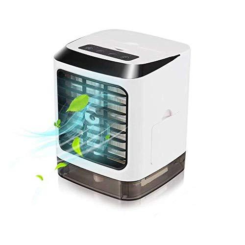 LQUIDE Persönlicher Weltraum-Luftkühler, 3 in 1 tragbare Mini-Klimaanlage, Klimaanlagen-Lüfter, USB-Lüfter, Home Office Dormitory Persönlicher Kleiner tragbarer Luftkühler