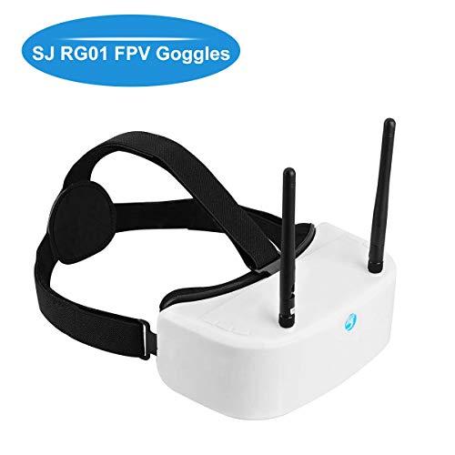 Hankermall SJ RG01 Gafas FPV 5.8G 48CH DVR FPV Headset