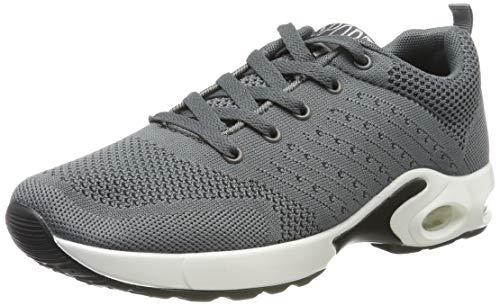 MIMIYAYA Damen Sportschuhe Laufschuhe Bequeme Air Laufschuhe Schnürer Running Shoes Mode und Freizeit