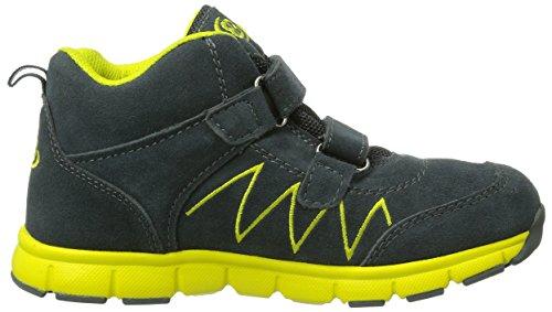 Bruetting  Glendale High V, Chaussures spécial sports en salle pour garçon Gris - Grau (grau/gelb)