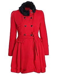 Coat Damen,Mosstars Frauen Mode Warm Slim Mantel Jacke Dicke Parka Mantel  Lange Winter Zweireiher d68440d18e