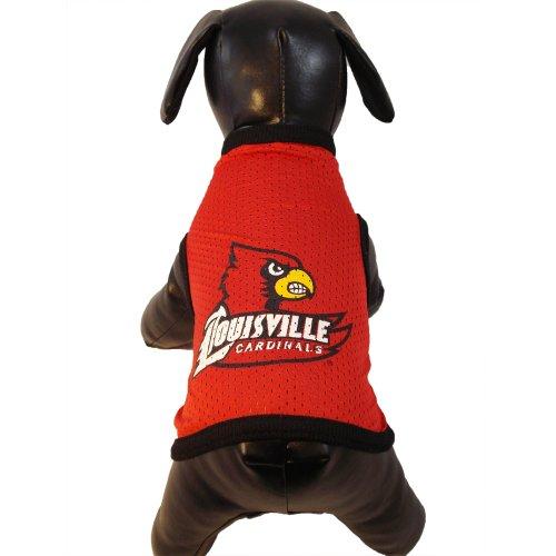 All Star Dogs NCAA Louisville Cardinals Athletic Hundetrikot aus Netzstoff, Unisex-Erwachsene, Team Color, X-Small -