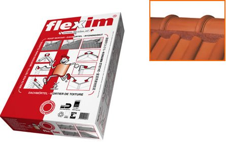 flexim-dachmortel-ve-10-streifen-ca9kg-fur-3-5-meter-farbe-rot
