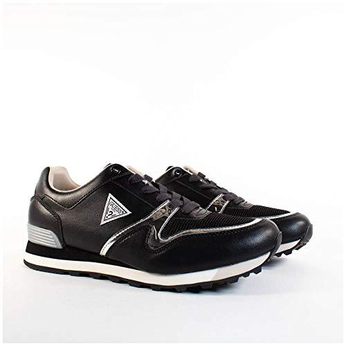 Guess New Charlie Sneaker Herren Schwarz - 45 - Sneaker Low
