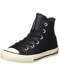 Converse Unisex-Kinder Ctas Hi Leather Thermal Hohe Sneaker, Schwarz