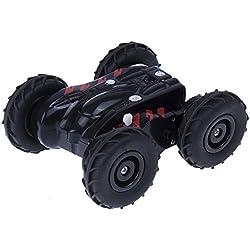 Juguetrónica Mad Racers Tracker, Coche Alta Velocidad trepador Color Morado y Rojo JUG0293