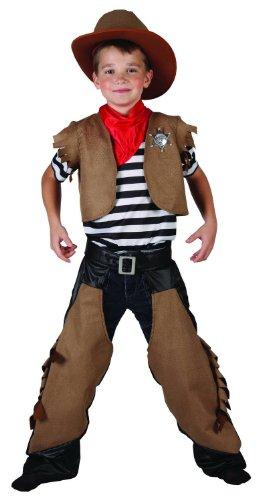 Costume cowboy bambino 4 a 6 anni