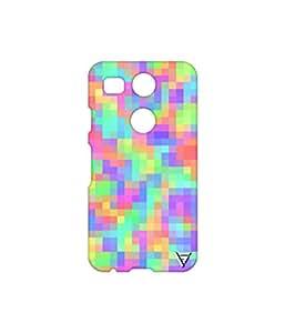 Vogueshell Multi Colour Pattern Printed Symmetry PRO Series Hard Back Case for LG Nexus 5X