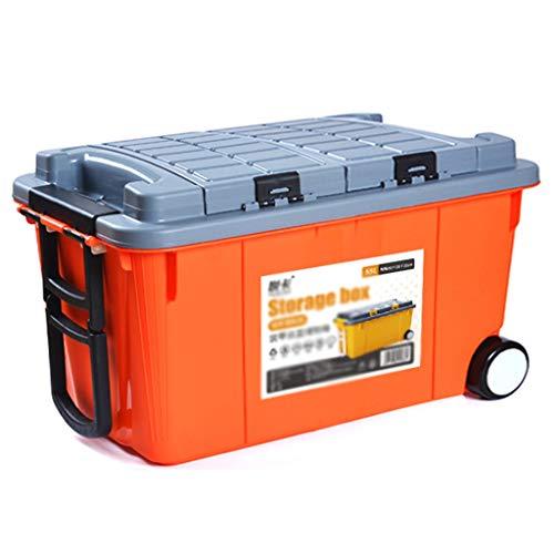 Organisateur de Coffre de Voiture Boîte de Rangement pour Coffre de Voiture Boîte de Rangement pour Voiture Boîte de Rangement Multifonctions en Plastique pour SUV