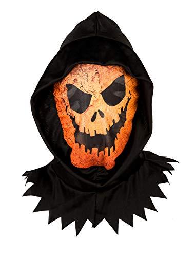 Deiters Maske Kürbis mit Kapuze