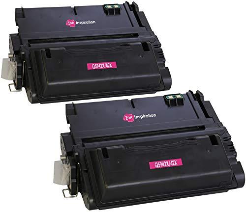 4350 Laserjet (2 INK INSPIRATION® Premium Toner kompatibel für HP Q5942X 42X Laserjet 4350, 4350dtn, 4350n, 4350tn, 4250, 4250dtn, 4250dtnsl, 4250n, 4250tn, 4240, 4240n | 20.000 Seiten)
