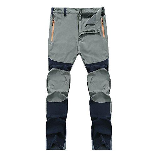 Wolle Skinny Hose (Jeans Herren Sunday Wasserdichte im Freien Wandernde Kletternde Warme Hosen Taktische der Männer (Navy, 4XL))