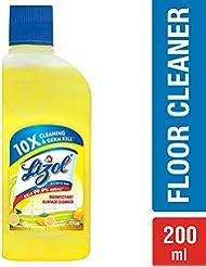 Lizol Disinfectant Floor Cleaner Citrus, 200 ml