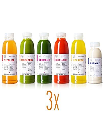 dean&david 3-Tages Juice Kur inkl. hochwertigem DETOX-Kit