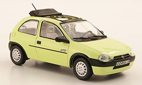 Opel Corsa B Swing, hellgelb (ohne Magazin), 1993, Modellauto, Fertigmodell,