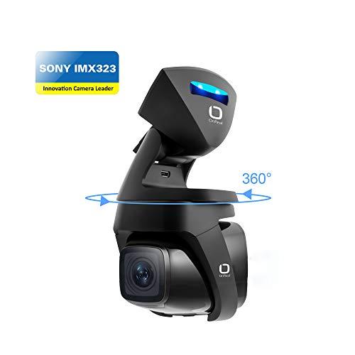 """OnReal Auto Kamera 1080P mit 1,5""""Bildschirm 150 Grad Weitwinkelobjektiv und 360 Grad Magnethalterung mit gesunder Ionizer Unterstützt G-Sensor Nachtsicht Bewegungserkennung Loop Record Parken Monitor"""