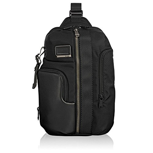 Tumi Alpha Bravo - Smith Sling Zaino Casual, 36 cm, 10.8 liters, Nero (Black)