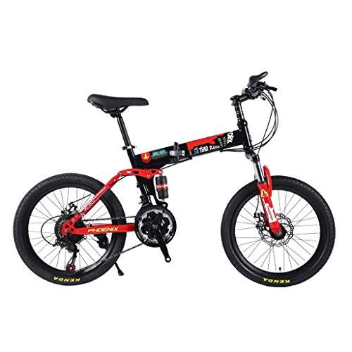 Xiaotian Kinder Klapp Geschwindigkeit Fahrrad Mountainbike Student 20 Zoll männliche und weibliche Studenten Fahrrad 21 Geschwindigkeit,C