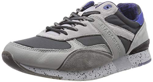 Napapijri Footwear Herren RABARI Sneaker Grau (Medium Grey N807) 42 EU 5262ad2568a