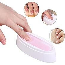 Challeng Nail Dipping Powder Francés Bandeja Manicura Molde Nail Dip Container