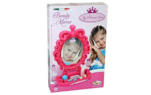Unogiochi 6823Prinzessin Kosmetikspiegel