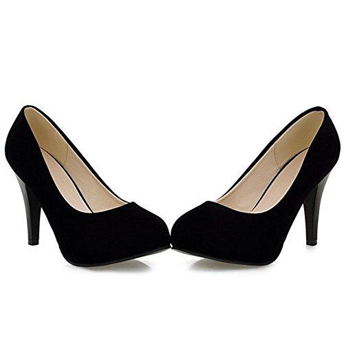 Festa Coolcept Bombas De Hoher Modo Schwarz Damen Deslizamento Sapatos De Evento Em Estilete RTcqU