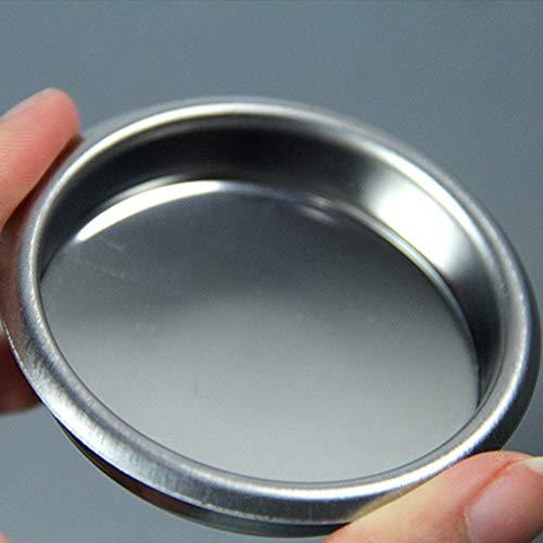 xMxDESiZ 58mm Mini-Metallblendfilter R¨¹cksp¨¹lkorb f¨¹r Espressomaschine