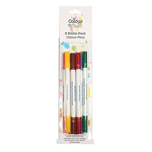 Color Salpicadura Comida Lápiz De Color Juego - Conjunto