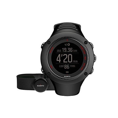 Suunto SS021257000 AMBIT3 Run Running GPS Watch, Standard (Black) image