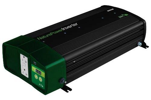 Nature Power 38326Pure Sine Wave Inverter mit 55-amp Ladegerät, 2000-watt (Power - Xantrex-portable)