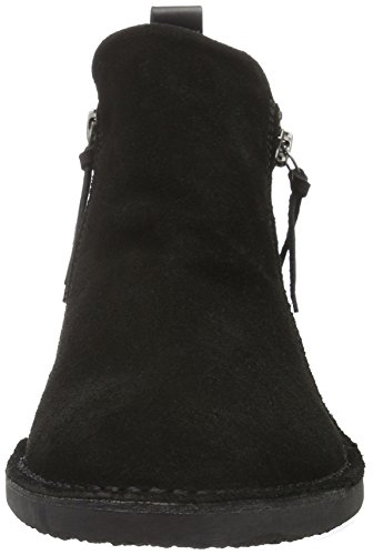 Bianco Zip Desert Boot JJA16, Stivali Desert Boots Donna Nero (Schwarz (10/Black))
