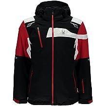 Spyder Titan, Giacca Uomo, Black/Red/White, XL