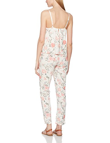 MAMALICIOUS Damen Umstandsoverall Mldelmira June Singlet Woven Jumpsuit Nf Mehrfarbig (Snow White AOP:Snow White)