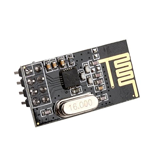 Price comparison product image PIXNOR 10pcs NRF24L01+ 2.4GHz Wireless Transceiver Module Arduino Compatible