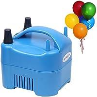 Signstek–Bomba de inflado eléctrica portátil soplador de aire inflador 17000Pa doble boquillas 900L/min Volumen de Aire Globos (enchufe británico)