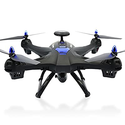 Gaddrt 6-axes X183 Drone with Camera Wifi FPV Quadcopter ,GPS Follow Me CF Mode, Headless Mode, One Key Return