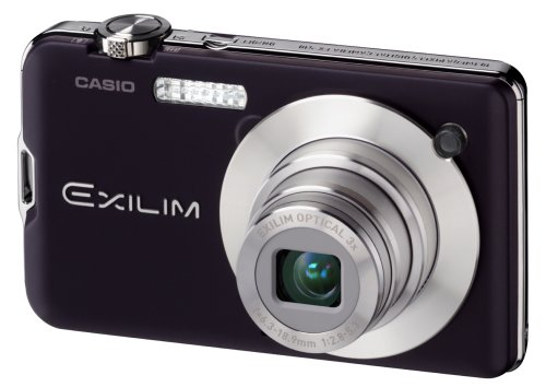 Casio EXILIM EX-S10 BK Digitalkamera (10 Megapixel, 3-fach opt. Zoom, 6,9 cm (2,7 Zoll) Display) schwarz