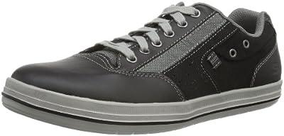 Skechers DefineMahan 64082 - Zapatillas de cuero para hombre, color azul, talla 39