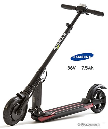 E-Twow Booster Samsung 7,5Ah Patinete,Negro, Talla Única