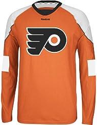 Philadelphia Flyers Reebok NHL Edge Jersey Long Sleeve T-shirt